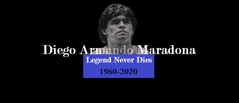 SPORT   Diego Maradona estmort