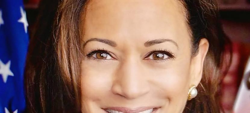 Kamala Harris vice-présidente des États-Unis d'Amérique.