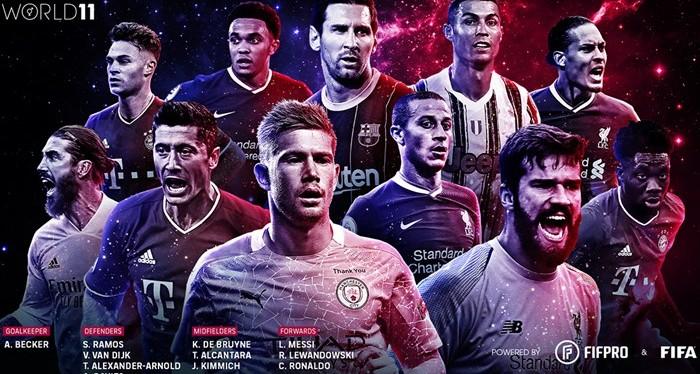 Sports | Les XI de FIFA FIFPro masculins2019-2020