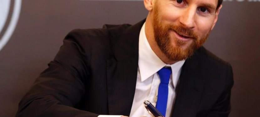 Sports | Lionel Messi reçoit le prix de Peace and Sport Awards comme meilleur Fair-player de l'année2020