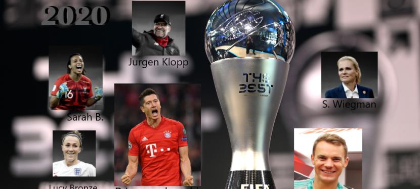 Sports | Les Best FIFA Football Awards2020