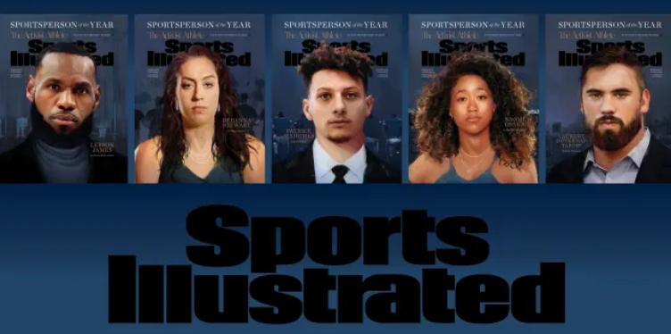 Célébrités   Naomi Osaka, Laurent Duvernay-Tardif et Lebron James parmi les Personnalités Sportives de l'année 2020 récompensées par le magazine SportsIllustrated