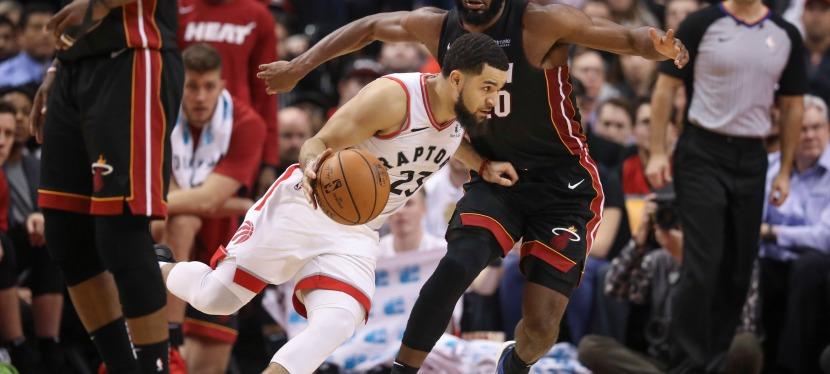 Victoire des Raptors de Toronto vs Miami Heat101-81