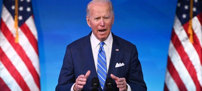 Joe Biden 46e PRÉSIDENT ASSERMENTÉ DESÉTATS-UNIS