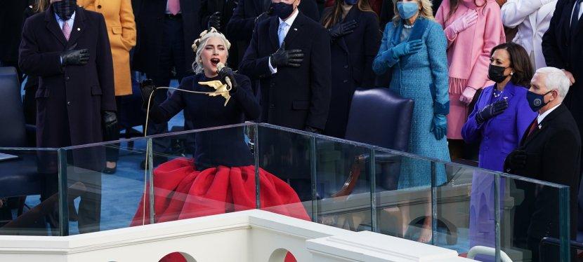 Les performances de Lady Gaga, de Jlo et de Garth brooks lors de 'investiture de Biden/Harris20/01/2021