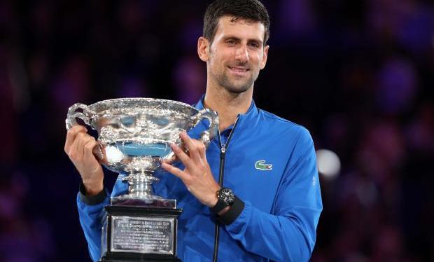 FINALE OA21: Novak DjokovicCHAMPION